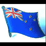 Pin New Zealand Flagge