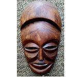 Holzmaske Sua Holz  2.Wahl 27x16cm