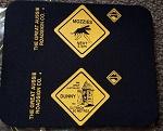 Mousepad Straßenschild verschiedene Motive