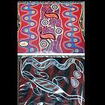 Mousepad mit  Aborigines Malerei