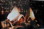 Poster Sydney Opera bei Nacht 59x42cm