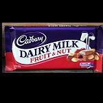 Cadbury Schokolade Frucht Nuss 200gr