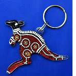 Schlüsselanhänger Känguru 7cm