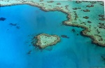 Poster Heart Reef Gt Barrier Reef 59x42cm