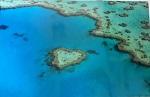 Poster Heart Reef Gt Barrier Reef 59x42cm