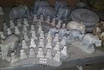 kleine Buddha Elefanten Elefant Speckstein