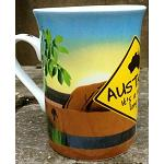 Kaffeebecher Ayers Rock + Roadsign