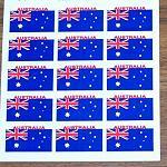 Aufkleber Flagge 15x mini