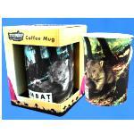 Kaffeebecher mit Wombat Motiv