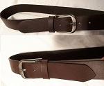 2er SET Ledergürtel schwarz oder braun
