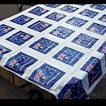 Tischdecke Australien Flagge 180x130cm