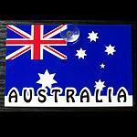Schilder Flagge Australien mit Saugnapf