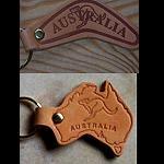 Schlüsselanhänger aus Leder   AUS