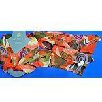 Schal Seide Silk Malerei