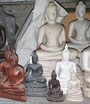 kleine + mittlere Buddha Figuren POSTEN