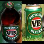 Bier VB Victoria Bitter Flasche Dose 0,375