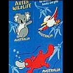 Aufkleber 8er Set Tiere Australien