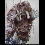 Echidna Handpuppe 27 cm sehr weich