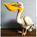 Pelikan schöne Farbgebung 33cm hoch