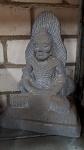 echt Stein Buddha Fastenzeit 40cm