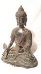 Buddha Bronze-antik 25 cm