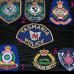 Aufnäher Polizei Feuerwehr Sammlerstücke