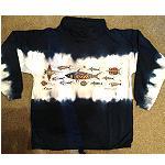 Gr M dickes Sweatshirt Stehkragen Churinga