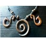 Halskette Maori Sono Holz Tribal 5 cm