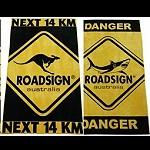 Strandlaken Handtuch Badetuch  Känguru