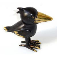 20x Raven Bronze Black Brown High 13 cm