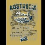 T Shirt  Old Style  Australia 1907