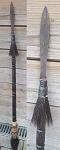 Antik Jagd Speer Lanze 114cm