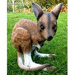 Känguru Garten Figur 29cm little joey