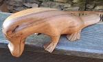 Akazien Holz Schnabeltier Platipus 27cm
