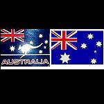 Aufkleber Flagge Australien 20cm