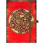 Notizbuch Tage Buch Gecko Cirkel 12x18cm