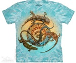 T-Shirt  Outback Lizard Circle