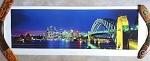 Poster Sydney & Bridge by Night 100x35