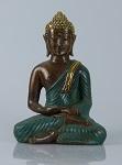 Bronze-Buddha 20 cm sitzend