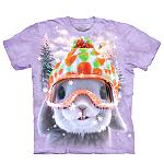 T Shirt Snow Bunny Hase Gr M-L 50x74cm