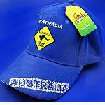 Base Cap  Känguru blue Australia