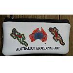 Mappe Etui Federmappe Australien Malerei