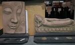8 Sets Buddha Stone look 27cm Teelichter