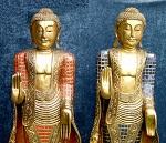 Buddha Thailand stehend 140cm