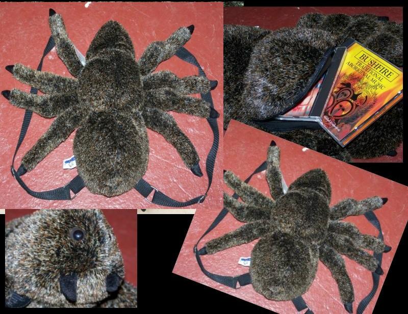 rucksack aussie red back spider kaufen im australien versand shop. Black Bedroom Furniture Sets. Home Design Ideas