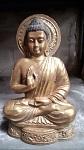 30x golden Buddha 20cm Poly. flach