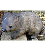 Wombat Garten Figur Polyresin 38cm