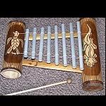 Xylophone Bambus 30x25cm