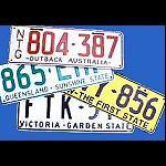 Autokennzeichen Nummernschild gebraucht