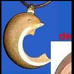 Delphinbaum-Kette oder Brosche